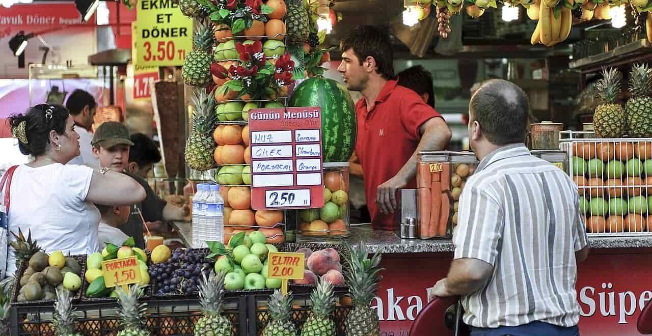 фрукты Турции, фото