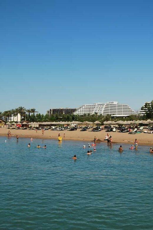 Пляжи Белека, фото
