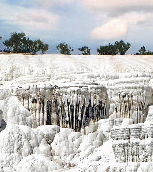 Памуккале в Турции, фото