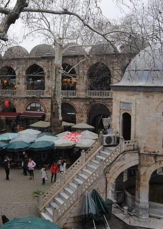 Город Бурса в Турции, фото