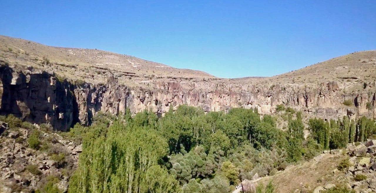 Долина Ихлара в Каппадокии, фото