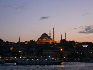 Ночной Стамбул - экскурсии по городу, фото
