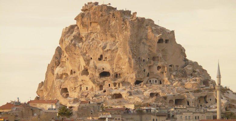 Крепость Учхисар в Каппадокии, фото